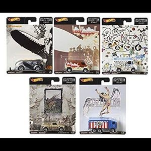 Led Zeppelin Hot Wheels. Lot of 5!